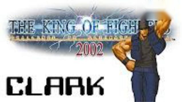 拳皇2002,克拉克疯狂输出,嗨翻全场