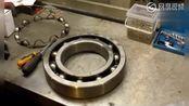 大型轴承如何安装钢珠进去?拆开你就明白了!