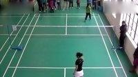 业余羽毛球女单比赛