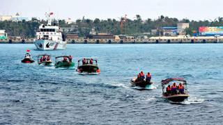 中国最神秘海上力量:人数上千万,不穿军装不拿武器,美舰看见就跑