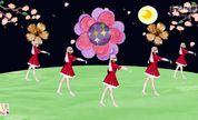 草原姑娘爱上草原的郎 广场舞 梦飞扬baby 舞蹈