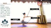 瑜伽教程初级:每天1分钟学瑜伽轻松告别水桶腰-笨拙式