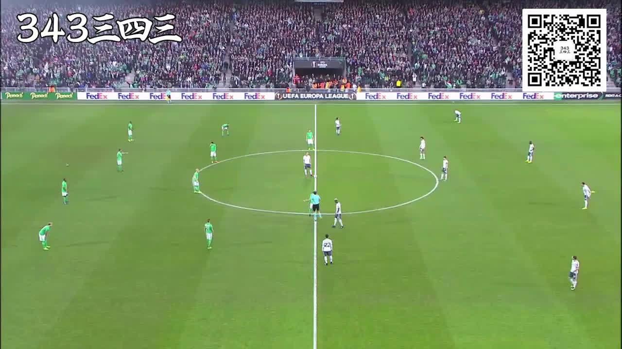 欧联精华:圣埃蒂安0-1曼联