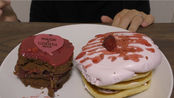 aoiあおい吃播 | 巧克力蛋糕草莓薄饼