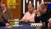德州扑克:荷官才是真赌神,天顺、天花、暗三全齐了,最后还出3333
