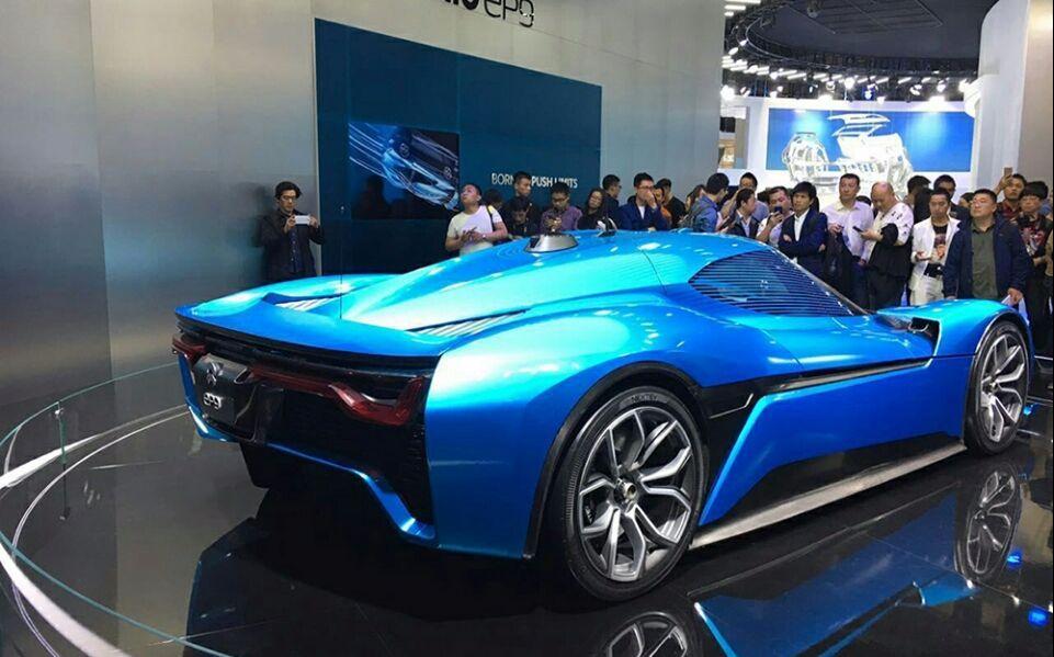 """中国版""""特斯拉"""",顶级富豪们的最新座驾——蔚来"""