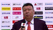 赛后采访王建军:今天我们打的很团队 大家都很分享球
