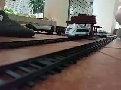 家中的火车模型2 (上集)