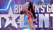 2016英国达人秀 第2周海选 凯蒂和保罗表演空中旋转 轰动全场