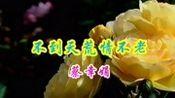 蔡幸娟一首经典情歌《不到天荒情不老》送给你,非常好听