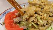 日本美食 日式棒棒鸡