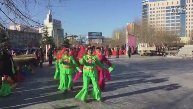 河北雄县人民欢歌载舞