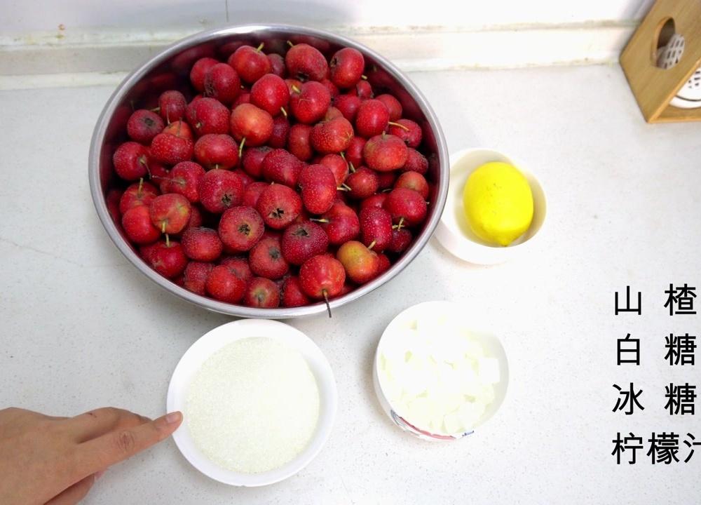 不需淀粉一次成型教你在家自制山楂糕和山楂酱,简单,放心