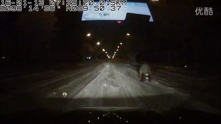 驭胜S350实拍嘉峪关北区2016年第一场雪到底有多大