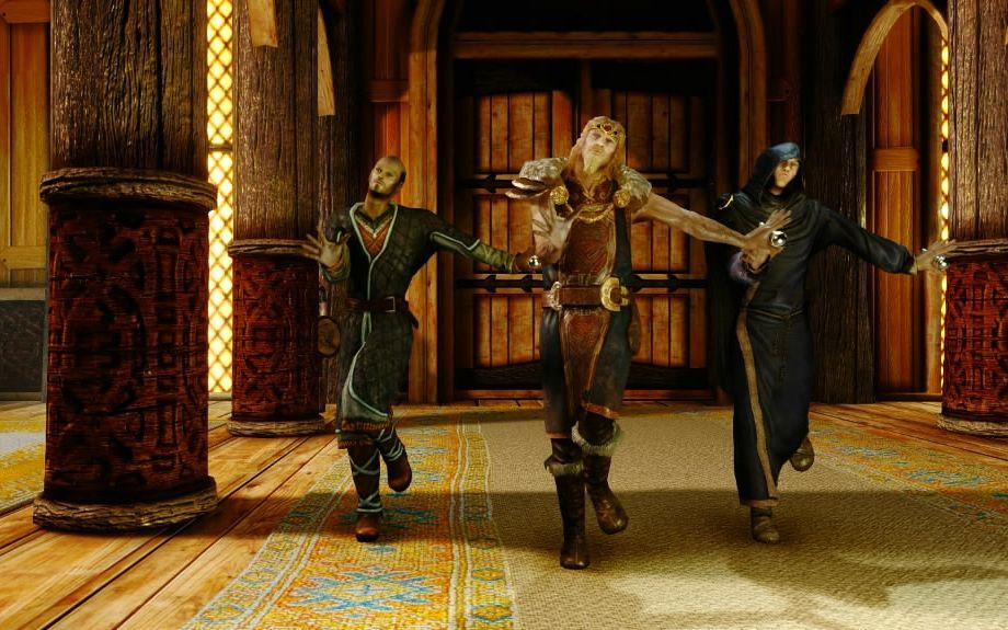 上古卷轴舞蹈-咱们宫里的人