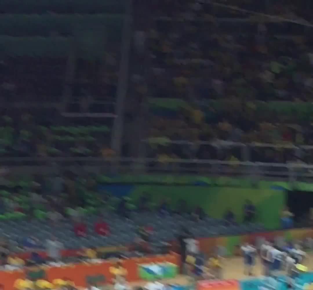 奥运女排中巴战最后时刻