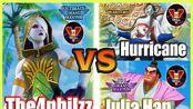 街霸5CE The4philzz (Falke) vs Hurricane (Seth) & Julia Han (E.Honda)