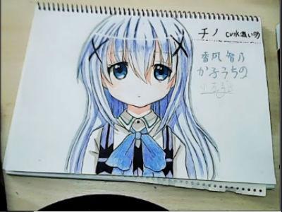 【小左手绘】手绘 香风智乃