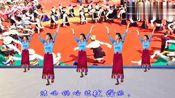 国庆节献舞《吉祥欢歌》祝福伟大的祖国繁荣昌盛!