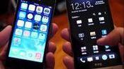 陌路相逢 iPhone 5S vs HTC One