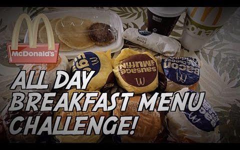 【Nathan小哥】麦当劳全天早餐菜单速食挑战