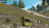 刺激战场:花月夜尝试远距离狙击敌车