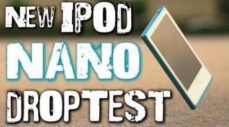 掉落抗摔测试: New iPod Nano (7代)