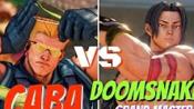 街霸5AE Caba (古烈) VS Doomsnake (叉子)