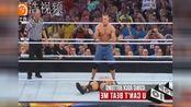 WWE巨石强森十大KO!年轻到年老