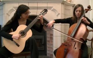 古典吉他 大提琴 二重奏 斯卡布罗集市Scarborough Fair