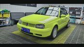 经典老车【大众 高尔夫 敞篷 Volkswagen Vw Golf Cabriolet Mk3 Mk3.5 Mk4 2001】