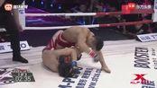 昆仑决-闫西波断头台,强势反击!翻身暴揍对手!TKO!