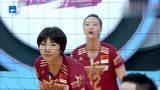 贾乃亮太尴尬了,赛场亲了下排球,惠若琪要求换球,何炅吐槽做作