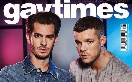 【加菲&小狼】Andrew Garfield和Russell Tovey最新《Gay Times》杂志写真拍摄花絮