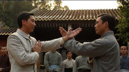 杜宇航vs元彪,樊少皇 咏春拳决斗