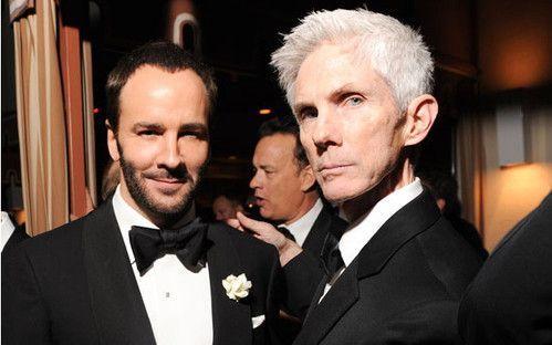 Tom Ford与丈夫Richard Buckley如何在CFDA终身成就奖颁奖时秀恩爱(并不