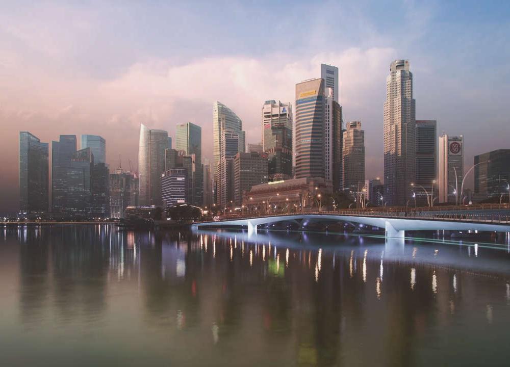 昼夜流转新加坡