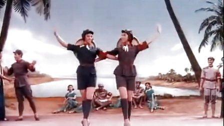 清华和连长双人舞等(舞剧《红色娘子军》片段,1970年)