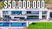 Erik Conover带你去加州洛杉矶马里布看五千万美元豪宅MEGA Mansion