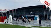 航拍:互联网之光博览会启用新场馆 85万片小青瓦铺成屋顶