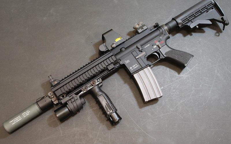 AK47 vs HK 416 vs HK G3 _高清在线观看_百度视频