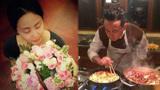 """黄磊为孙莉庆生 一句饱含22年柔情的""""宝贝""""甜齁"""