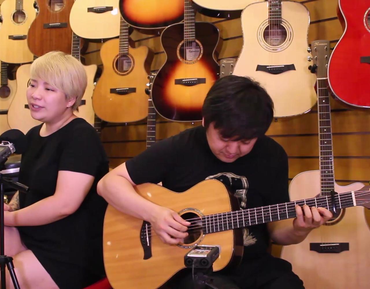 陈奕迅 红玫瑰 吉他弹唱