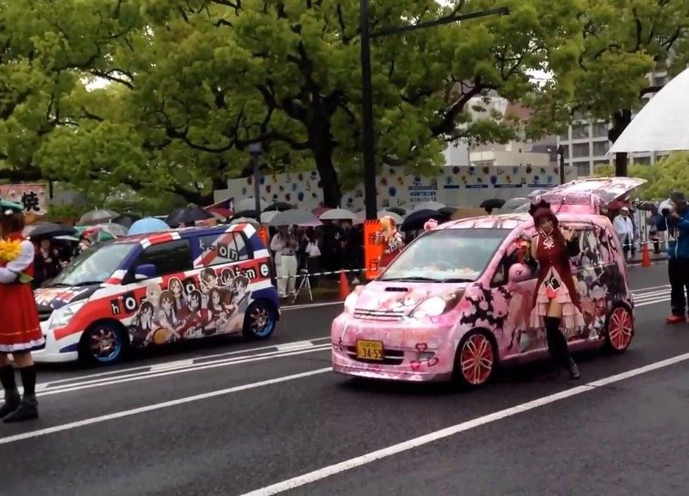 広島 FLOWER FESTIVAL 2016 痛車&COSPLAY