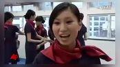 香港空姐们练习自卫术