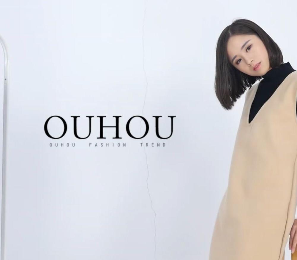 红人装出品--欧惑OUHUO棚内服装展示视频002