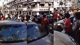 上海 沪 AJQ319豪车问题女 之二 拒绝下车...