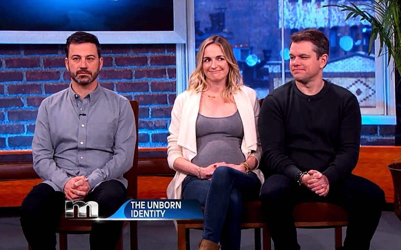 Who's The Baby Daddy_ Jimmy Kimmel or Matt Damon_