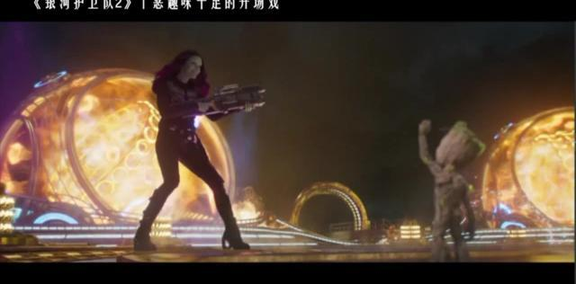 3分钟看完《银河护卫队2》格鲁特宝贝的强势卖萌!