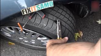 """老外是这么给汽车轮胎打""""蘑菇钉"""",这技术可靠吗?"""